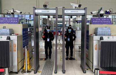 天津地铁九号线安检项目